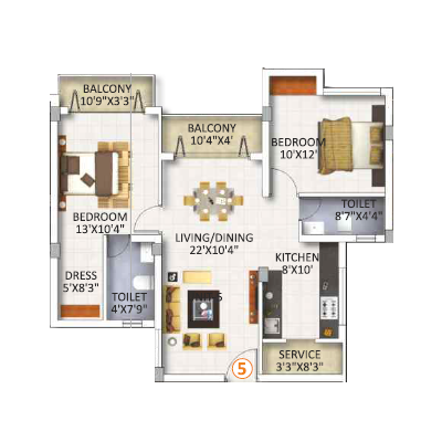 2Bhk Flats for Sale in Chennai